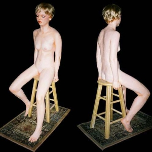 Joseph Canger Sculptures, nudes