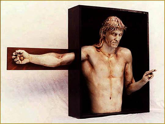 Joseph Canger Sculptures, Grace Lutheran Church, Perth Amboy, NJ