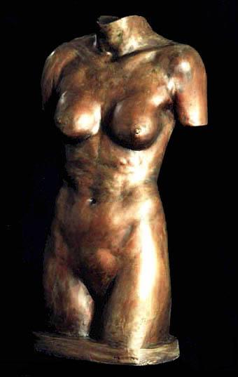 Joseph Canger Sculptures, faux bronze
