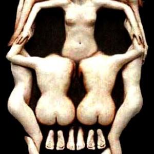Joseph Canger Sculptures, Salvador Dali, skull, International Life Cast Museum